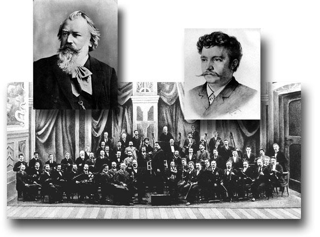 Brahms, Steinbach, Meininger Hofkapelle